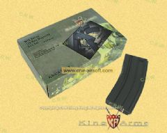 King Arms 120rd Magazine for M4 / M16 AEG (Black, 10pcs)